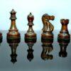 Reykjavik II Series Acacia wood Chessmen Pieces