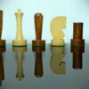 Berliner Golden Rosewood Chessmen