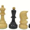 1950 Dubrovnik Chessmen-Ebonized