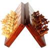 12″ Folding Magnetic Chess Set