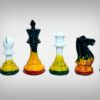 Fire/Ice Painted Chessmen