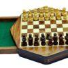 7″ Magnetic Octagonal Travel Chess Set