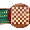 7″ Magnetic Round Travel Chess Set