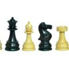 Vintage English Ebonised Chessmen