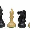 1972 Fischer-Spassky Ebonized Chessmen