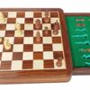 12″ Magnetic Chess Set with Drawer
