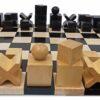 Bauhaus Ebonized Chess Set
