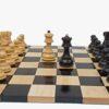 Zagreb '59 Ebonized Chess Set