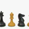 3.4″-Antique Staunton Chessmen-Ebonywood