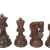 Zagreb '59 Acaciawood Chessmen-3″