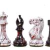 4″ Textured Staunton Chessmen